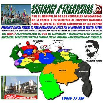 Venezuela MOVILIZACIÓN ¡A pata pa' Caracas!: Este 27 de Septiembre los Cañicultores  se movilizan