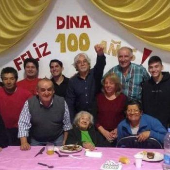 Argentina- A sus 102 años, nos dejó la compañera Dina: UNA VIDA MILITANTE